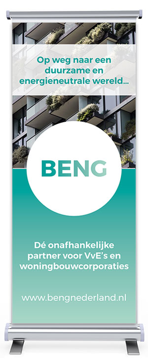 Roll-up banner BENG Nederland
