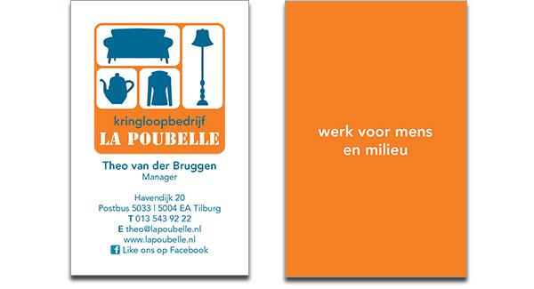 Visitekaartje La Poubelle