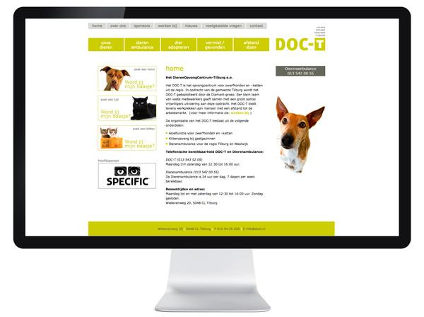 website DOC-T Tilburg