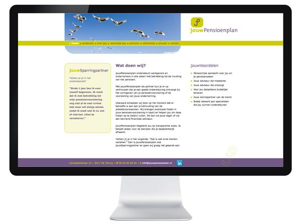 website jouw Pensioenplan - Tilburg