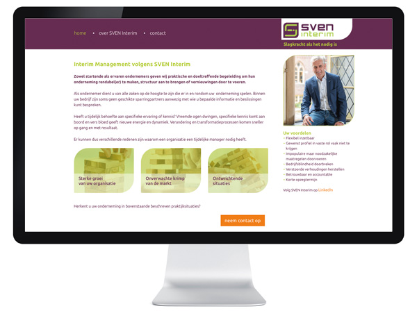 website Sven Interim